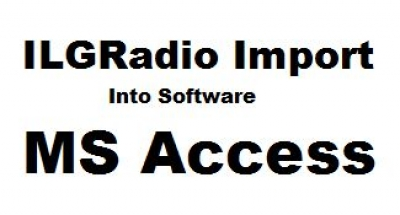 ILGRadio Database Import into Microsoft Access