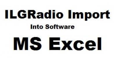 ILGRadio Database Import into Microsoft Excel