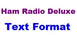 Ham Radio Deluxe with special ILGRadio Files of current season