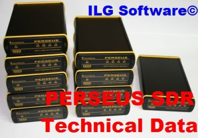PERSEUS SDR Technical Data